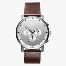 MVMT D-MC01-SBRL Chrono 45 Silver Brown Heren horloge