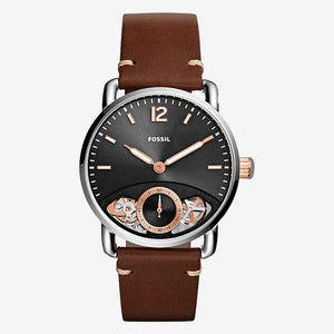 Fossil ME1165 The Commuter herenhorloge