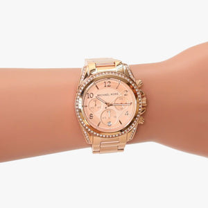 Michael Kors MK5263 Blair dameshorloge met chronograaf