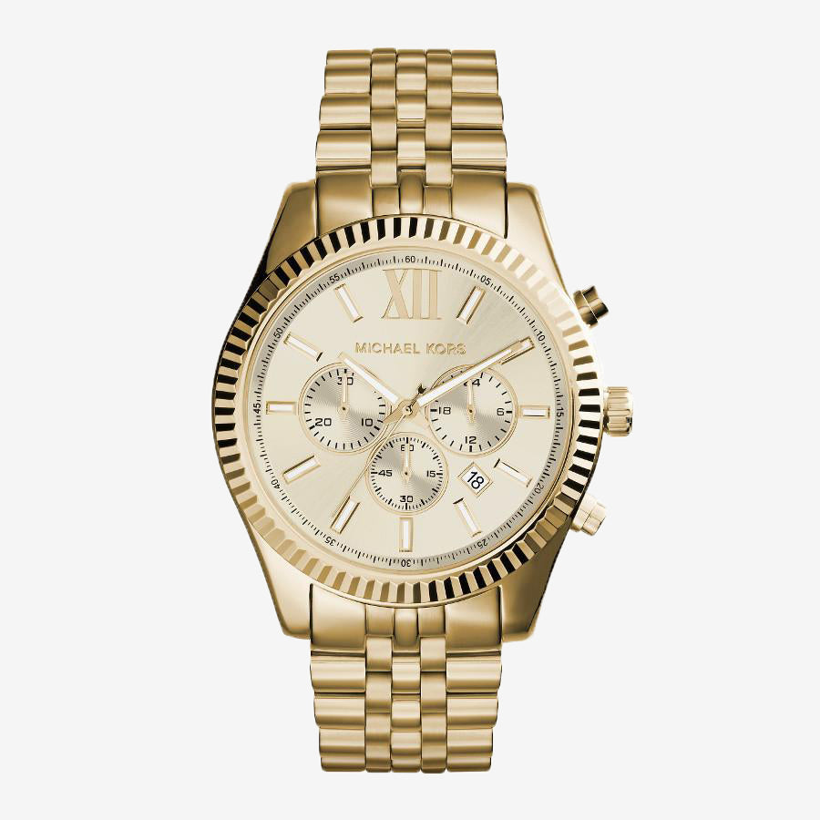 Michael Kors MK8281 Lexington herenhorloge met chronograaf