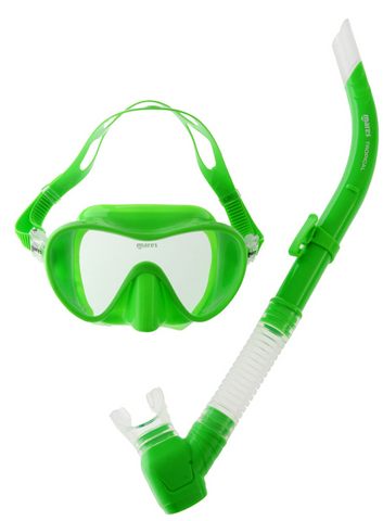 Tropical Mask Snorkel Combo Green
