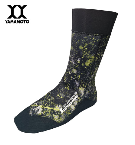 Spearfishing Superstore Reef Hunter Socks 2mm Green