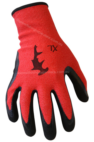 Dyneema Gloves Red Nitrile