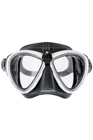 M3 mask - white frame