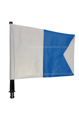 Flag & Pole for Inflatable Float