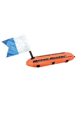 Inflatable Float With Line & Flag