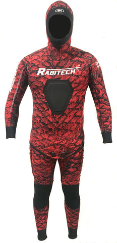 Mammalian Wetsuit RED - 2mm 2 Piece