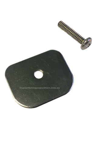 Muzzle Plate With Screw - Euro