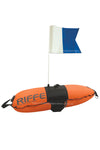 Torpedo Pro Dive Float With Alpha Flag