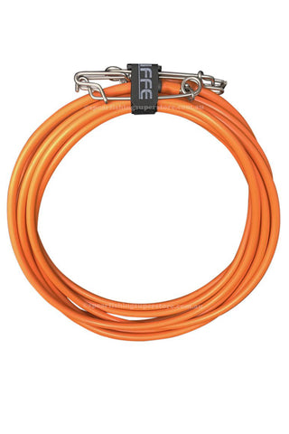 Vinyl Float Line Assembly - Orange 30.4m