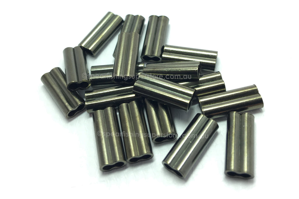 2.2mm Monoline and Fishing Crimp Sleeves 20 Pack