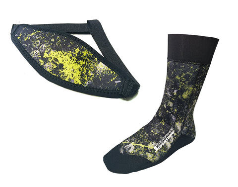 Spearfishing Superstore 2mm Socks and mask tamer Free Gift
