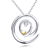 Load image into Gallery viewer, Sterling silver jewelry pendant necklace