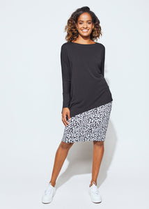 Lou Lou The Susie Long Sleeve Top Black One Size