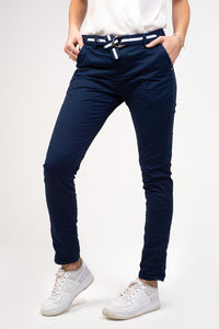Bianco Essonite Navy Denim Jeans