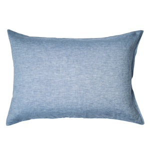 Sage & Clare Linen Standard Pillowcase Set Chambray
