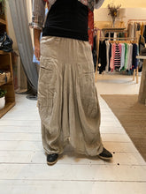 Talia Benson Linen Skirt Natural