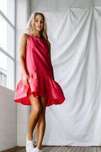 LJC Designs Annie Dress Raspberry