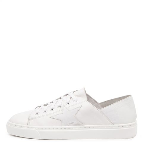 Mollini Oholiday White Star White Leather Sneaker