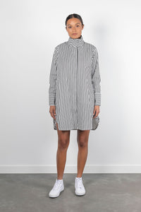 Passenger Lucy Shirt Dress - Black & White Stripe