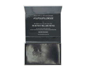 Slip Pure Silk Pillowcase Charcoal