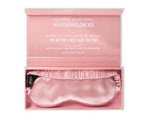 Slip Pure Silk Sleep Mask Pink