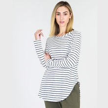 3rd Story Scarlett Long Sleeve Tee Stripe