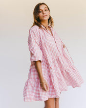 Lullaby Club Avalon Smock Dress Candy Gingham