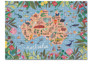 Journey of Something 1000 Piece Puzzle- Australia Edition