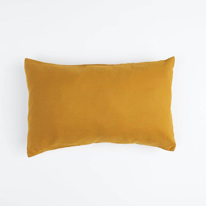 Society of Wanderers Turmeric Standard Pillowcase Set