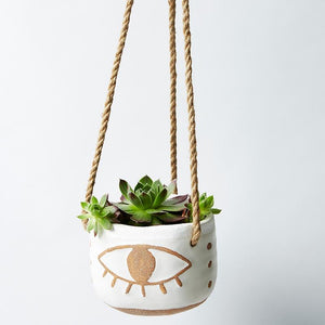 Jones & Co Nazar Eye Hanging Planter