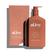 al.ive body Fig, Apricot & Sage Natural Hand & Body Wash