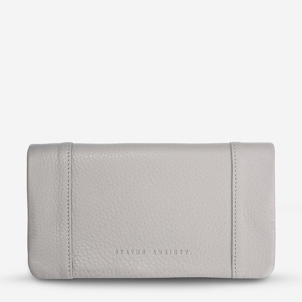 Status Anxiety Some Type of Love Wallet Light Grey