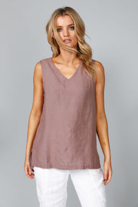 The Shanty Mandalay Singlet Sienna