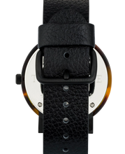 The Horse - The Resin Brown Tortoise Shell / White Dial / Black Leather