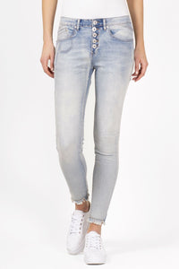 Bianco Sherry Boyfriend M. Blue Denim