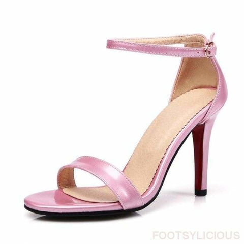 Athena Sexy Sandals - Pink / UK8 - Sandals Footsylicious