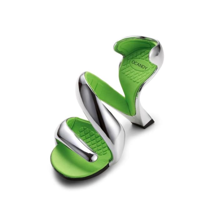 Bottomless Spiral High Heel Sandals - Footsylicious