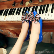 Butterfly-knot Ballet Flats - Flat Shoes Footsylicious