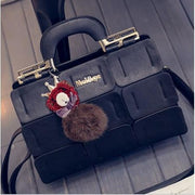 Chic Mini Handbag - Black - Handbag Footsylicious