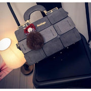 Chic Mini Handbag - Gray - Handbag Footsylicious