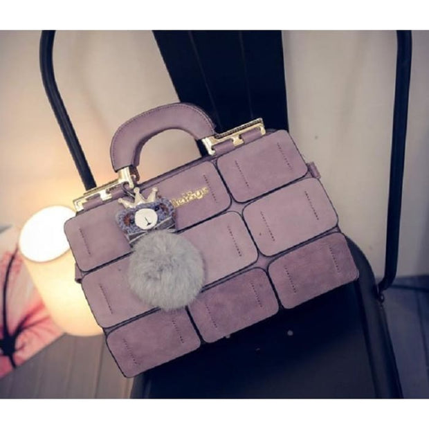 Chic Mini Handbag - Purple - Handbag Footsylicious