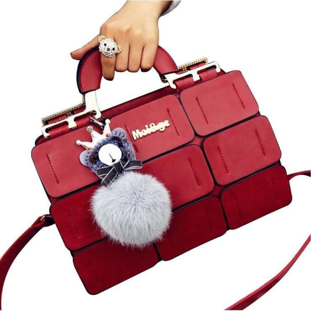 Chic Mini Handbag - Red - Handbag Footsylicious