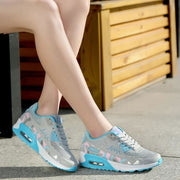 Comfortable Breathable Running Sneakers - Blue / UK5.5 - Sneakers Footsylicious