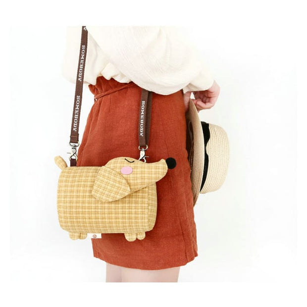 Dachshund Dog Crossbody Shoulder Bag - Handbag Footsylicious