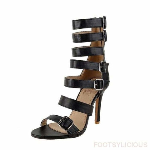 Eris Gladiator Sandals - Black / UK2.5 - Footsylicious