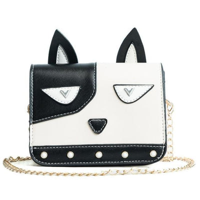 Funky Dalmatian Shoulder Bag - Handbag Footsylicious