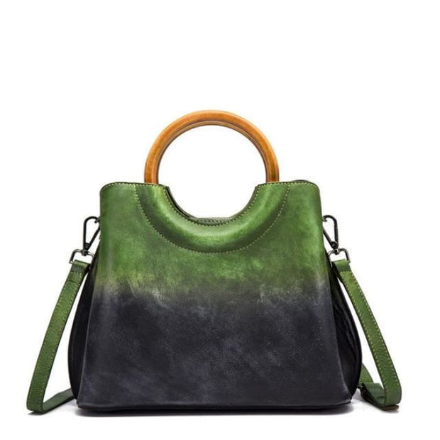 Fusion Luxury Bag - Green - Handbag Footsylicious