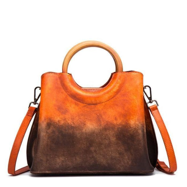 Fusion Luxury Bag - Orange - Handbag Footsylicious