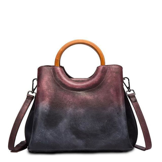 Fusion Luxury Bag - Purple - Handbag Footsylicious